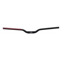 TOUS NOS ACCESSOIRES   Cintre Spank SPOON Ø31,8mm, 800mm rise 40mm noir/rouge Le cintre SPANK Spoon 31,8mm de diamètre en 40mm d