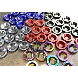 Accueil   Kit rondelles de couleur avec vis