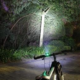 TOUS NOS ACCESSOIRES   Lampe de vélo étanche 3xT6 LED phare de vélo avant 4 modes lampe de vélo de nuit de sécurité + batterie r