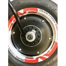 TOUS NOS ACCESSOIRES  CARBONREVO Support d'étrier et spacer Carbonrevo Dualtron Thunder La paire pour équiper 2 roues