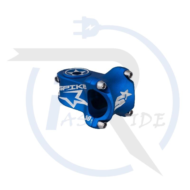 TOUS NOS ACCESSOIRES   Potence SPIKE Race, 50mm bleu