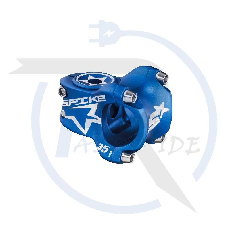 TOUS NOS ACCESSOIRES   Potence SPIKE Race, 31,8mm, 35mm Blue