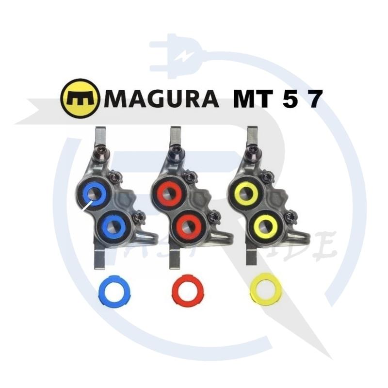 Accueil   Kit d'anneaux pour étrier 4 pistons, (bleu, rouge fluo, jaune fluo) 12 pièces