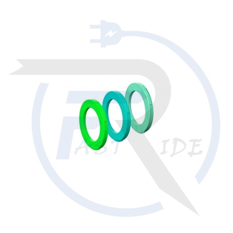 TOUS NOS ACCESSOIRES  MAGURA Kit d'Oeillets Magura Etrier 4 Pistons Vert fluo / Turquoise / Menthe (x12)