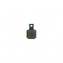 Plaquettes 8.S, Sport, vert, pour freins MT, 4 pistons, 4 plaquettes, incl. 2 vis